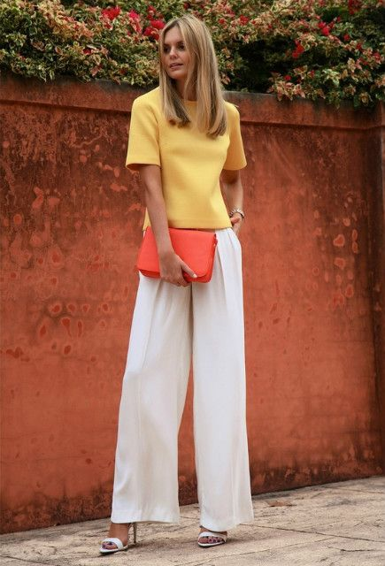 nice handbag with those comfortable pants.  http://hotwomensclothes.com