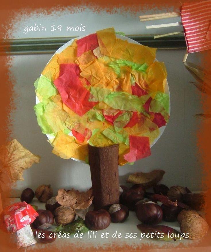 De herfst boom gabin