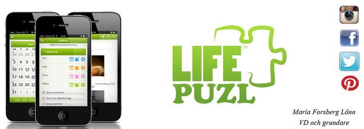 MyLifePuzl - Från och med vecka 6 så kommer vi börja presentera veckans livspusslare som vi utser genom vårat evenemang Jorden Runt Med LifePuzl.