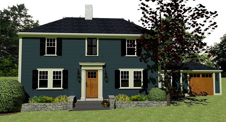 This Is A Google Sketchup Kerkythea Rendering Of My Home