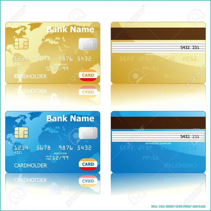 9 awesome things you can learn from real visa credit card