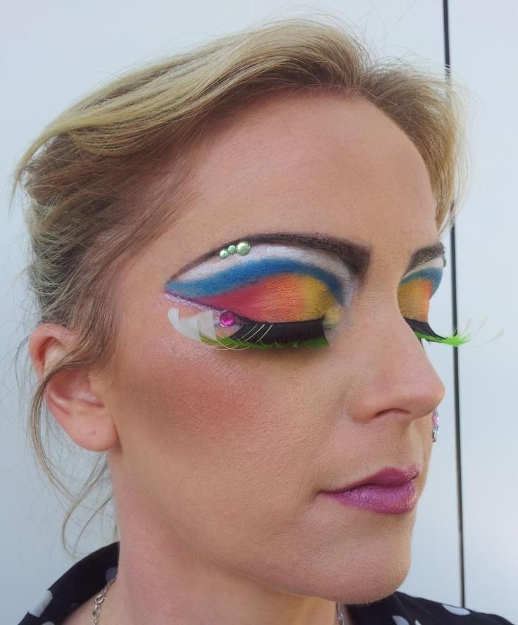 Avant Garde Clown Makeup