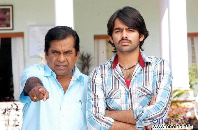Brahmanandam with Ram Pothineni #Ready #Tollywood #Telugu