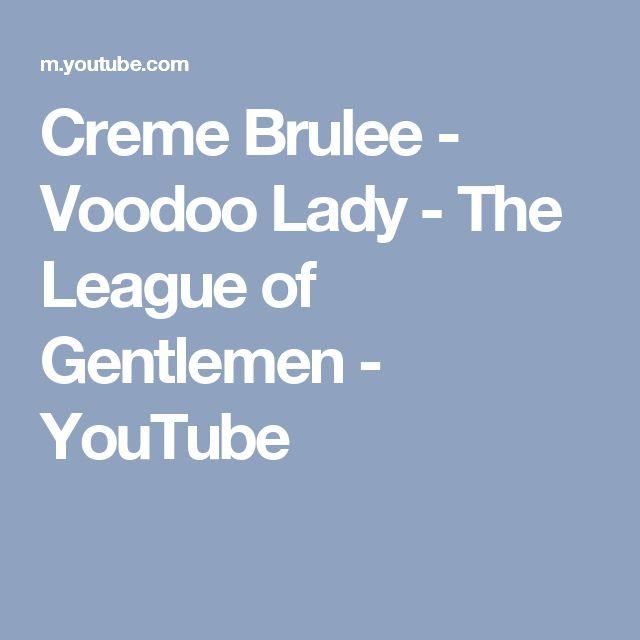 Creme Brulee - Voodoo Lady - The League of Gentlemen - YouTube
