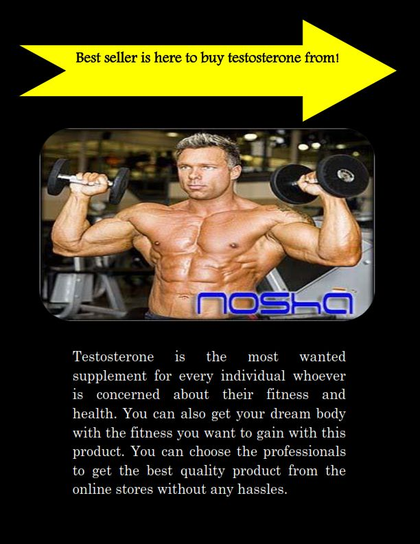 Everyone wants to achieve desirable physic. Testosterone is  a very strong supplement which helps to gain strong muscle mass rapidly. If you want to #buytestosterone from a reputable store, you can visit at nosha.biz.