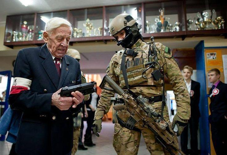 JWK soldier and polish WW2 veteran