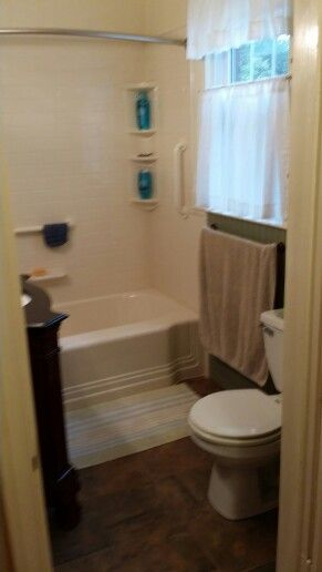 Wainscoting Over Tile In Bathroom