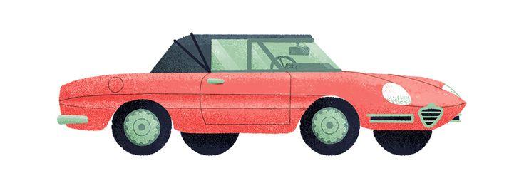 Automobiles on Behance