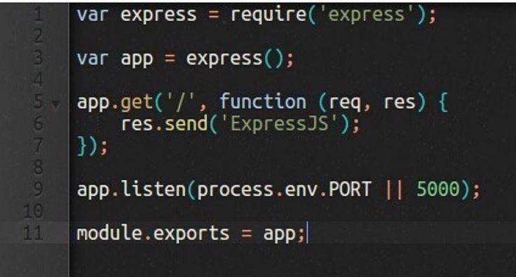 NodeJS - Express  javascript #angularjs #reactjs #webdevelopment #webdeveloper #webdesign #webdesigner #html #html5 #bootstrap #application #app #development #programming #css #css3 #js #jquery #php #nodejs #ruby #java #android #laravel #mongodb #nosql #mysql #postgresql #software #python