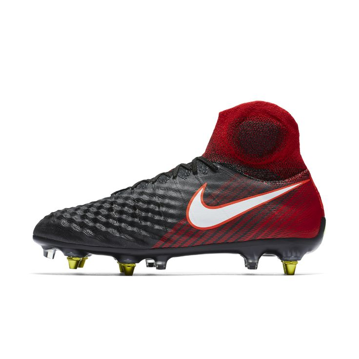 Nike Magista Obra SG-PRO Anti Clog Traction Soft-Ground Soccer Cleats Size  12 (Black)