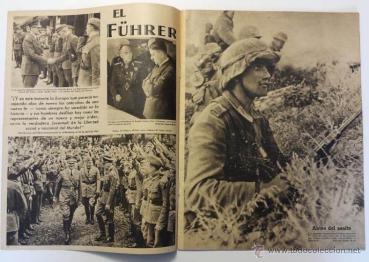 Militaria: DER ADLER -NUMERO ESPECIAL- EUROPA EN LUCHA CONTRA EL COMUNISMO 1943 DIVISION AZUL VOLUNTARIOS - Foto 5 - 43685587