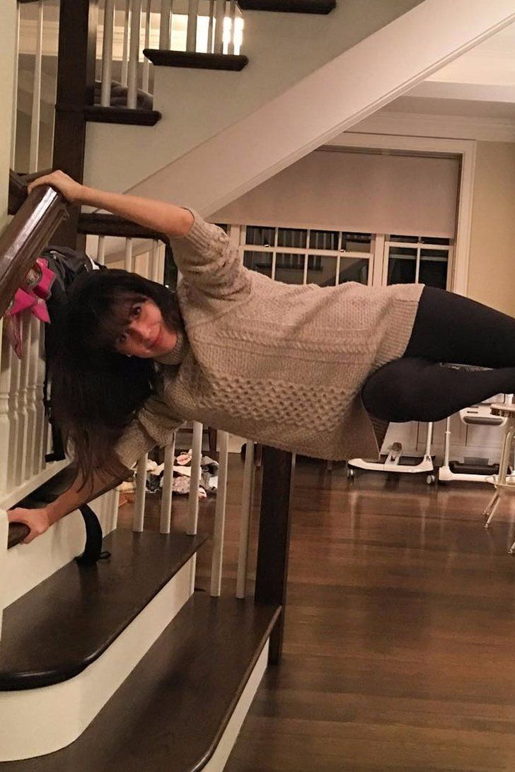 10 Unconventional Places to Practice Yoga, According to Hilaria Baldwin's Instagram