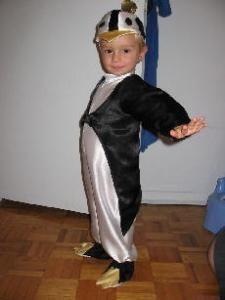 Новогодний костюм пингвина как сшить