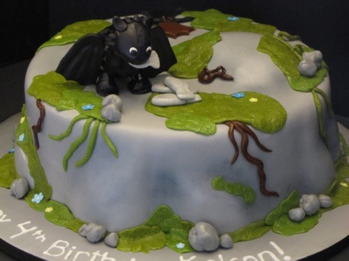 How To Train Your Dragon: Toothless4Th Birthday, Children Birthday, Kids Stuff, Dragons Cake, Toothless Dragons, Toothless Cake, Dragons Birthday Cake, Birthday Ideas, Birthday Cakes