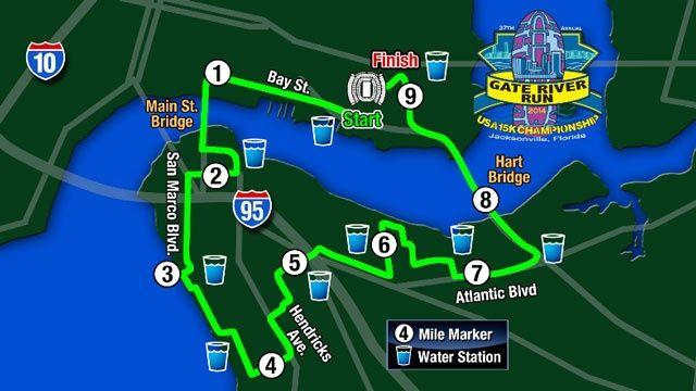 Gate river run k course races i ve pinterest