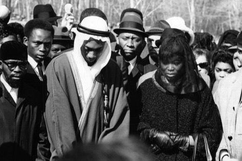 betty shabazz and malcolm x relationship