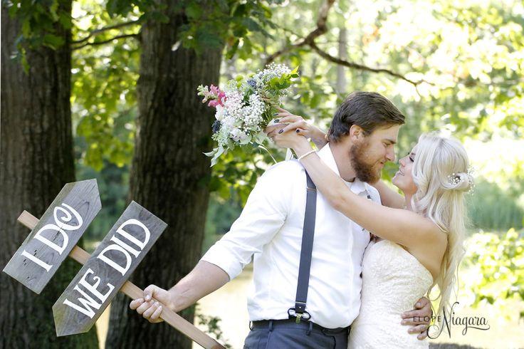 We did at The Little Log Wedding Chapel in Niagara