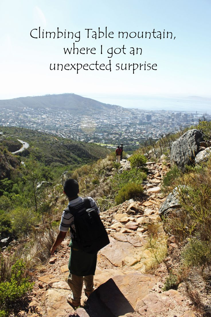 My travel tail from Table Mountain http://aworldofbackpacking.com/climbing-table-mountain