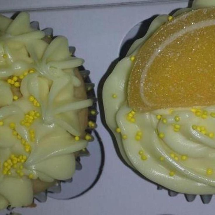 Lemon Tequila Cupcakes