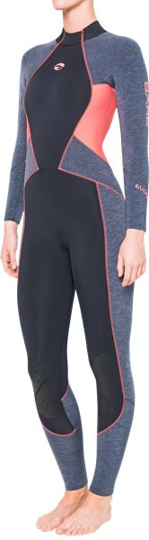 Evoke 3mm Women's Wetsuit - The World's Warmest Dive Wetsuit - BARE