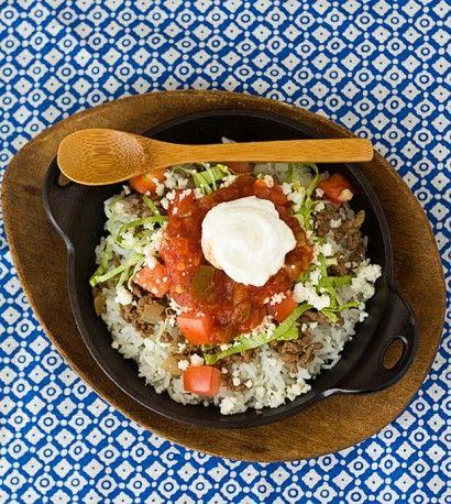 "Okinawan Takoraisu (aka ""Taco Rice"") | Tasty Kitchen: A Happy Recipe Community!"