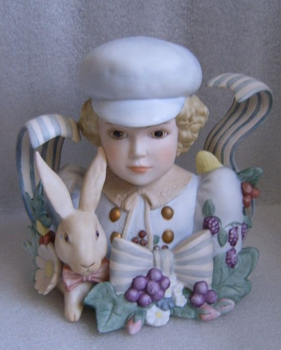 Jan Hagara Figurines For Sale: Vintage LIMITED ED Sculpture PORCELAIN BUST JAN HAGARA
