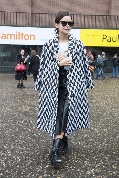 geometric coat