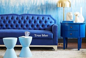 Rhythm in Blues: Furniture & Decor from Turquoise to Navy