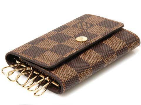 Louis Vuitton 6 Key Holder in Damier Ebene.  Next purchase!