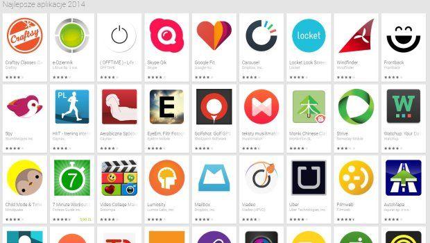 Google wybrał najlepsze aplikacje na Androida roku 2014. Wysoka pozycja wielu z nich nie zaskakuje. W rankingu znaleźliśmy jednak kilka prawdziwych pereł, o których koniecznie trzeba wiedzieć.