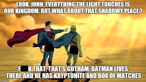 Tell us how you really feel #Superman #BatmanvSupermanDawnofJustice http://www.superherostuff.com/characters/batman/batman_merchandise.html