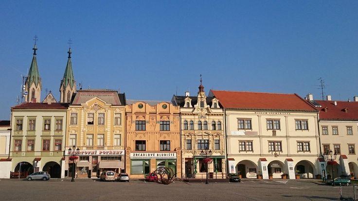 Velke Namesti Kromeriz (main square) - Czech Republic