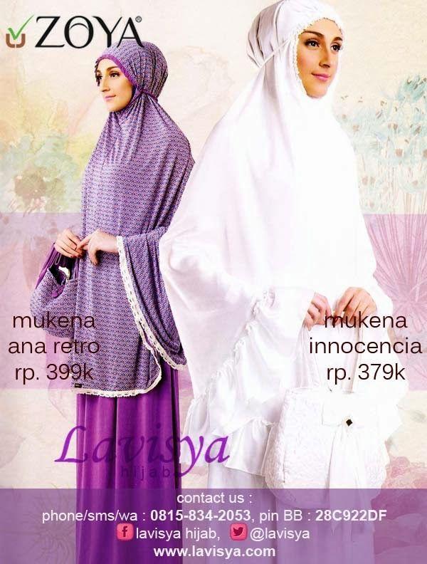 Lavisya Hijab: Zoya Mukena Ana Retro Rp 399000 - Mukena Innocenci...