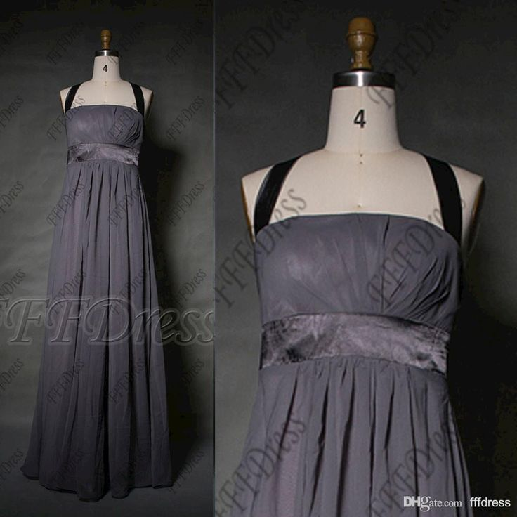 Wholesale cheap bridesmaid dress online, 2015 spring summer - Find best halter charcoal gray bridesmaid dresses long formal gowns plus size evening dresses at discount prices from Chinese bridesmaid dress supplier on DHgate.com.