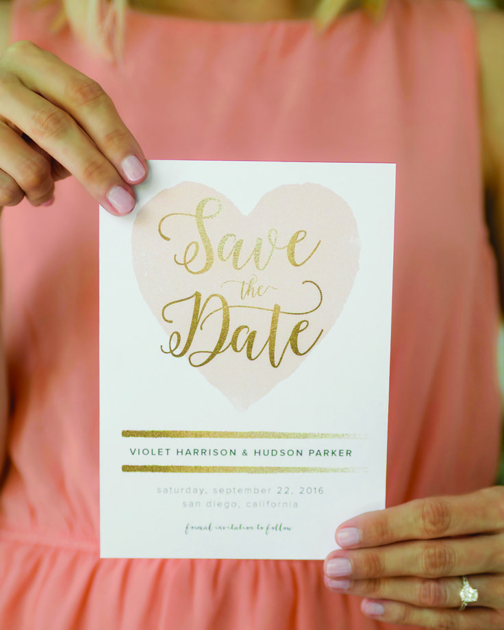 cruise wedding save the date announcement%0A Get the date on everyone u    s calendars with the perfect custom printed Save  the Date