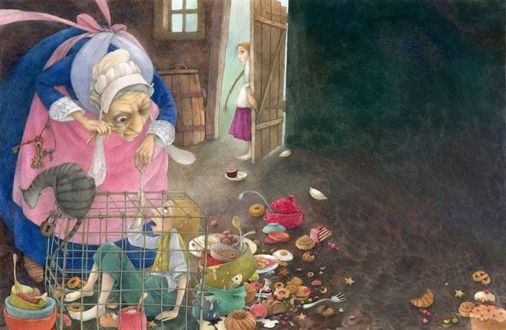 Grimm's Fairy Tales by Lina Dudaite