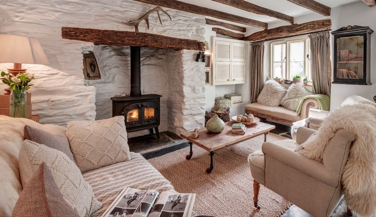 Escape the hubbub of everyday life and escape to this luxury cottage in the moorland village of Rilla Mill in Cornwall, where tranquillity promises only to be disturbed by birdsong. Elysian's pared-back rough-luxe style makes it an inspired Cornish retreat.