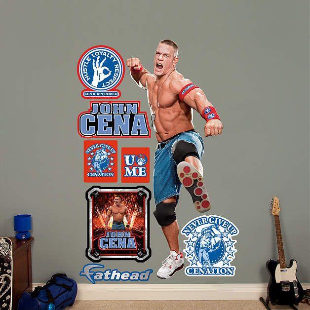 Fathead WWE John Cena Cenation Wall Graphic   Wall Sticker Outlet Part 68