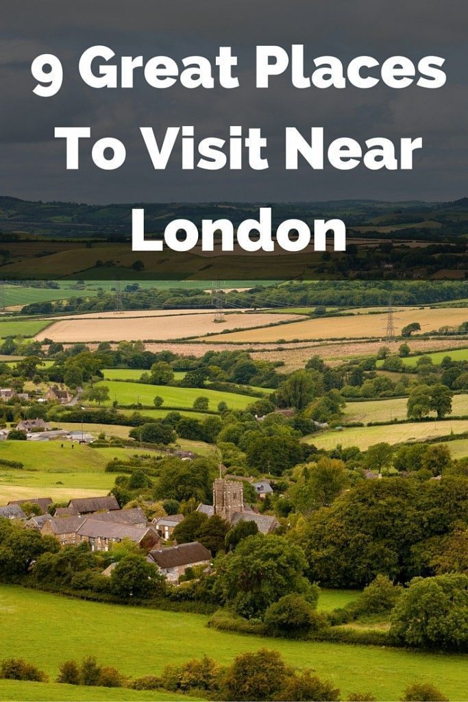 While visiting London, why not check out some of the neat attractions nearby? These make for excellent daytrips.