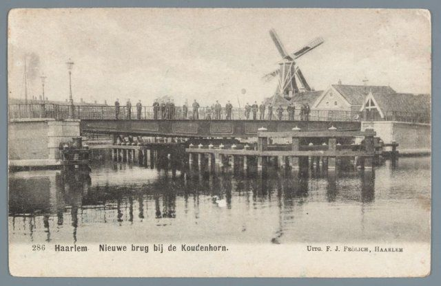 Catherijnebrug Haarlem