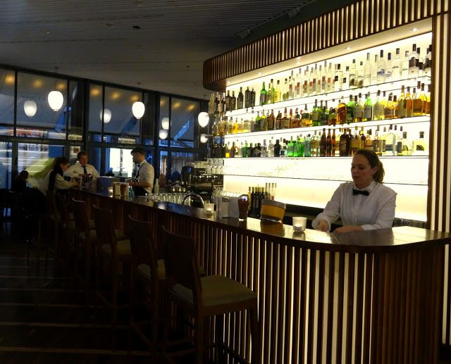 Bar at Funkhaus Cologne Germany