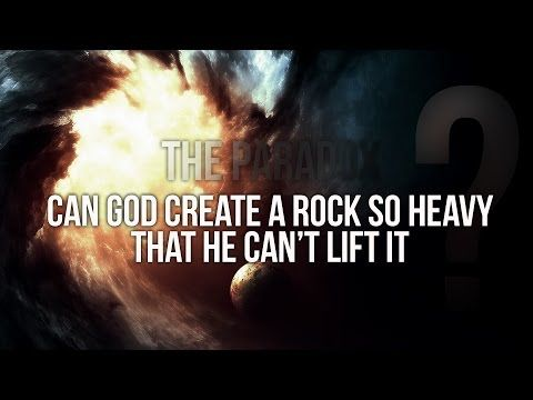 Can God Create A Rock That He Can't Lift It |THE PARADOX OF OMNIPOTENCE - YouTube