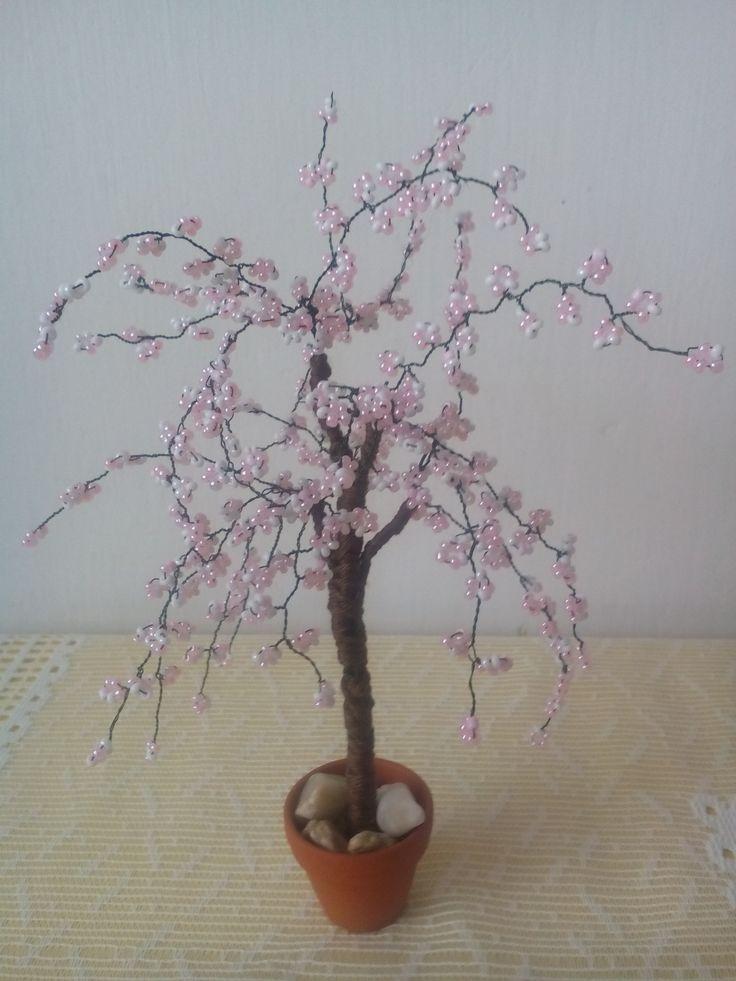 sakura z korálků