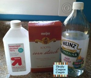 Whip up this chemical free window cleaner with just 3 ingredients.  It works really well, and after testing several make at home cleaners we decided this one is the best.  Click the photo to get the recipe.