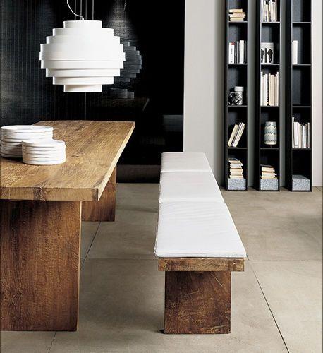 Tavolo moderno in legno massiccio CARPENTER  Tisettanta