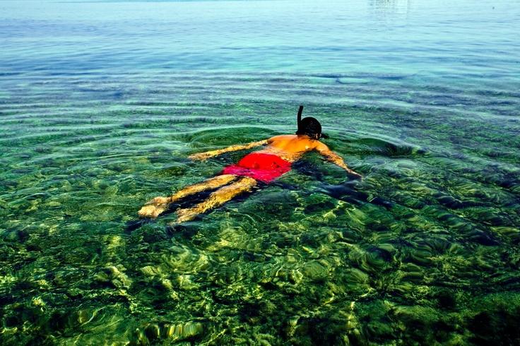 |Crystal clear waters on the Nisi (Gaidourοnisi) in #Ierapetra. |  Κρυστάλλινα νερά στο Νησί ( Γαϊδουρονήσι ) στην Ιεράπετρα.      Photo : Σετάκης Γρηγόρης ( CC-BY- ND )