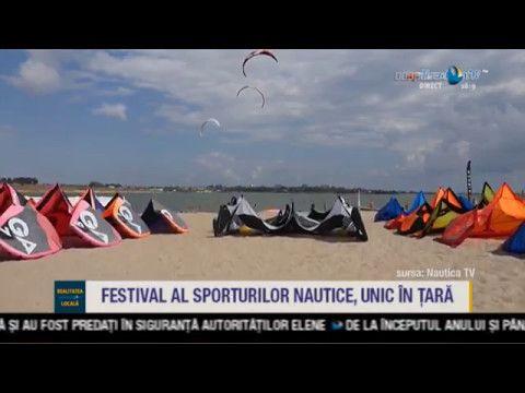 Festival al sporturilor nautice, unic în țară
