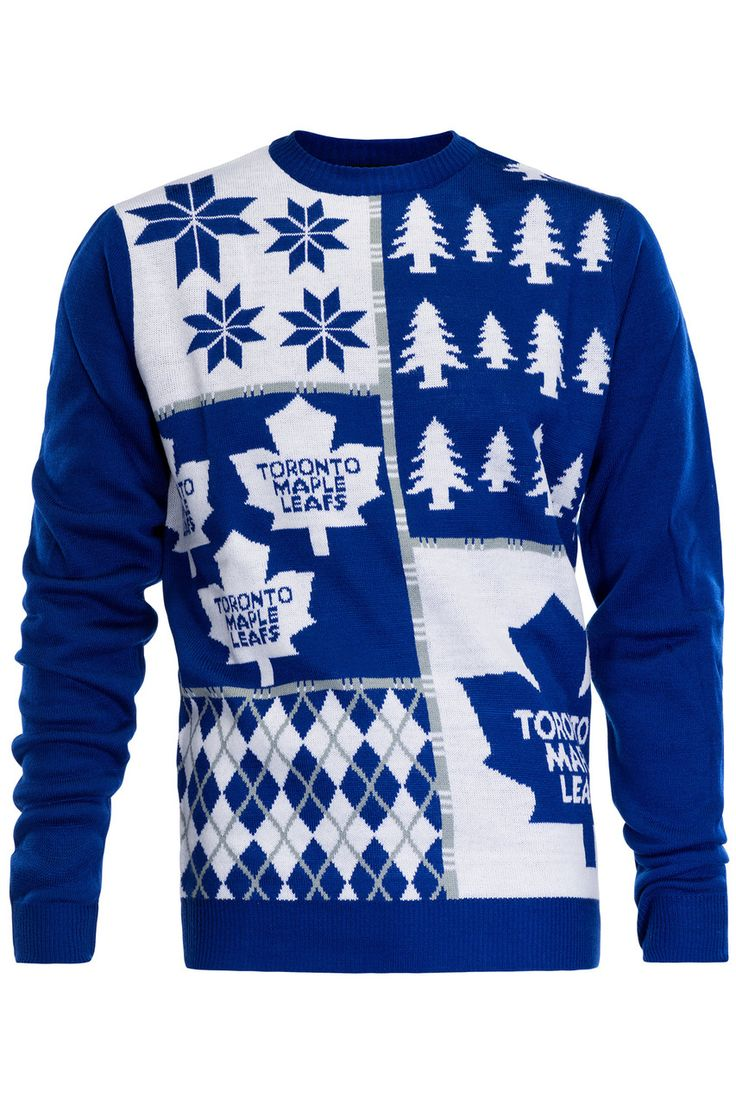 RetroFestive.ca - Toronto Maple Leafs Ugly Christmas Sweater NHL, $69.99 (http://www.retrofestive.ca/toronto-maple-leafs-ugly-christmas-sweater-nhl/)