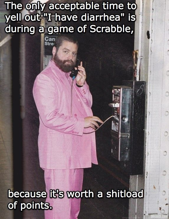 Scrabble with Zach Galifianakis