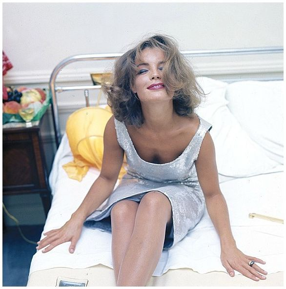 Romy Schneider, photo by Milton Greene, Monte Carlo, 1963.